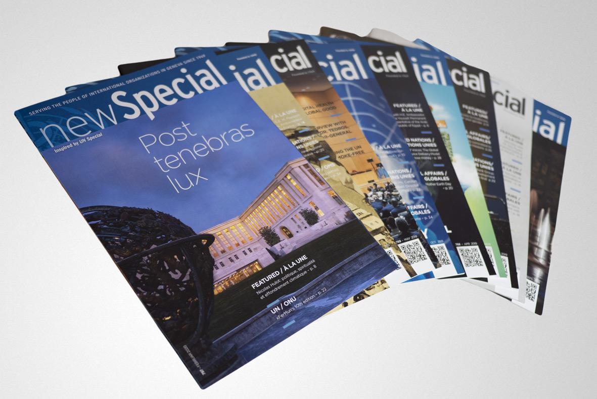 News Special, La revue au service du personnel des Organisations Internationales de Genève depuis 1949.