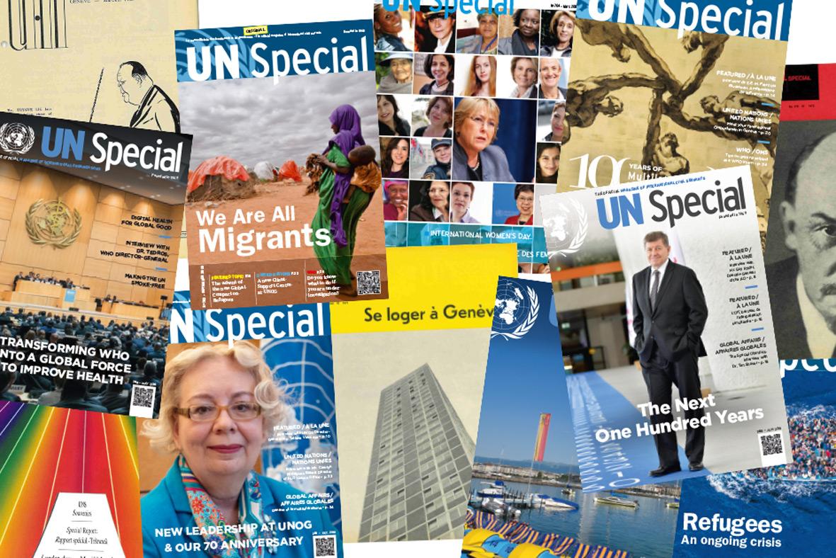 newSpecial, revue au service du personnel des organisations internationales de Genève depuis 1949